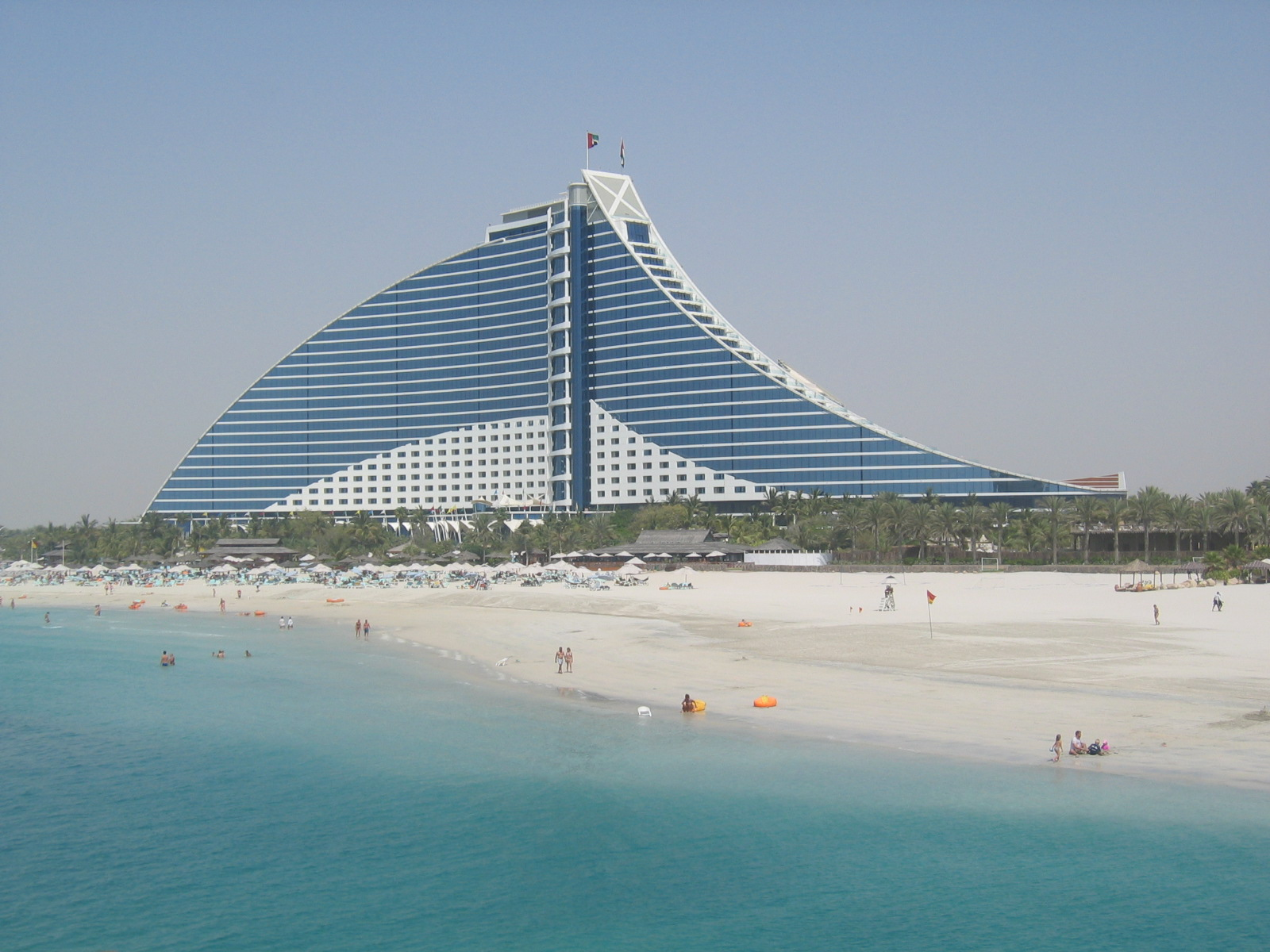 Projects for Dubai beach hotels